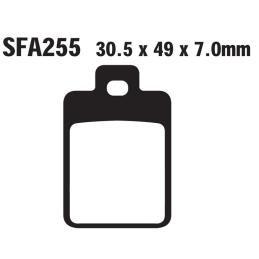 Klocki hamulcowe EBC FA255 S