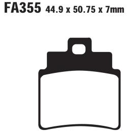 Klocki hamulcowe EBC FA355 S