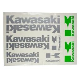 Naklejki Kawasaki Silver...