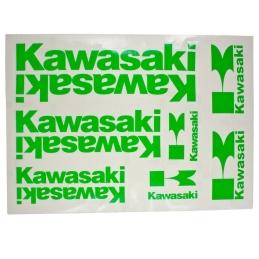 Naklejki Kawasaki Green...