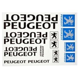 Naklejki Peugeot Black kpl....