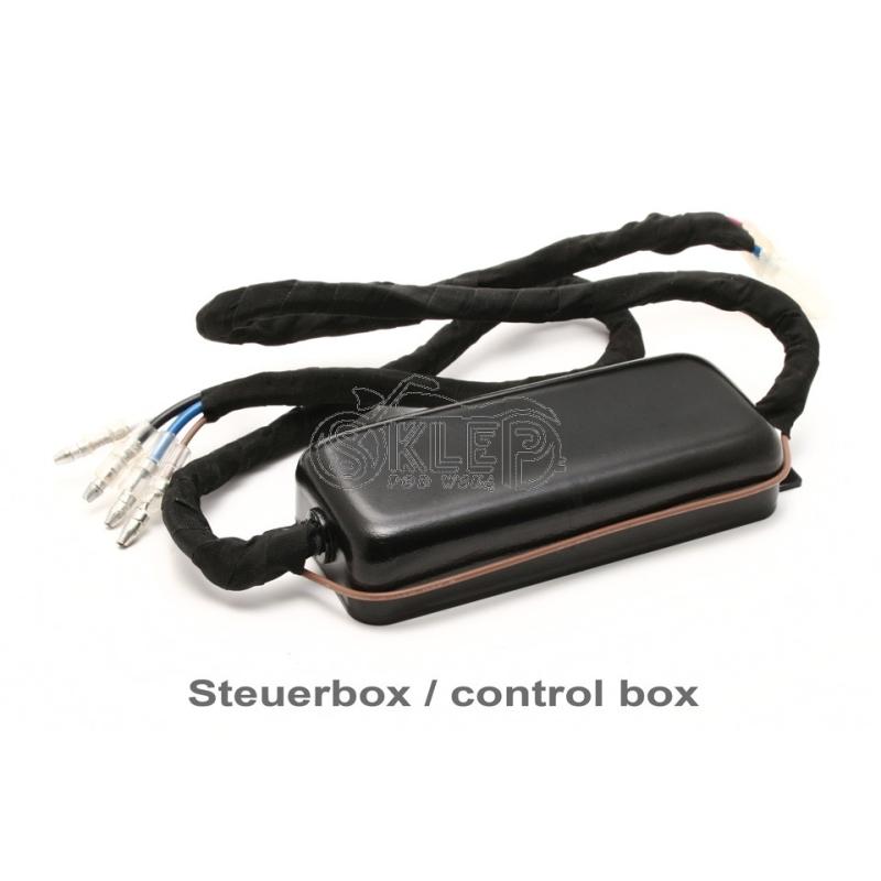 Kontrolka LED - czerwona - wciskana 10mm