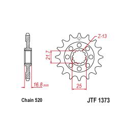 Zestaw naprawczy zacisku BCF-325 Suzuki