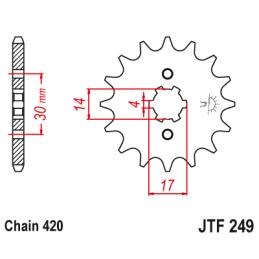 Element optyczny WSK125 fi.151mm E-4