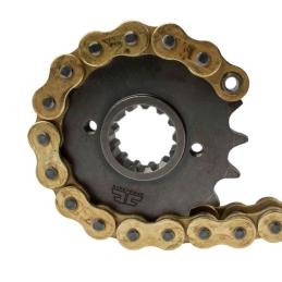 Osłona gumowa lag 118x25x35 czarna Romet Ogar