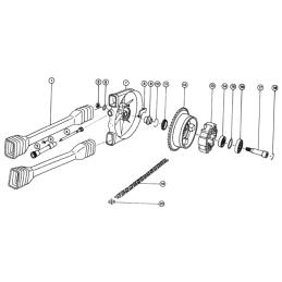 Klucz do filtra oleju - 68mm, 14 boków HF138