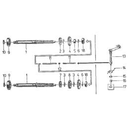 Zębatka napędowa tylna JTR1078-47 (420) JT 47 z.