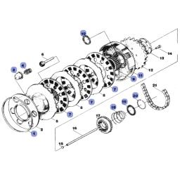 Kostki regulatora CLC011 Honda VT600 VFR750 RVF