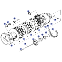 Silnik - Sprzęgło - WSK125 B3