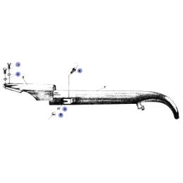 Osłona łańcucha - WSK125 B3