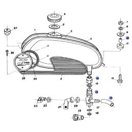 Wariator WM Motor Honda Dio Vision, Peugeot Fox