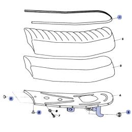 Ściągacz M24x1,0 - prawy gwint, zewnętrzny