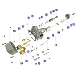 Czujnik temperatury silnika Morini LC