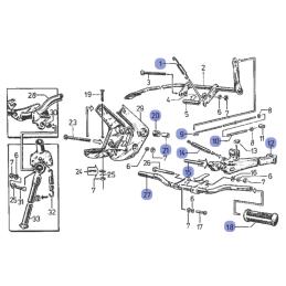 Mocowanie silnika - Simson S51