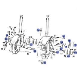 Silnik - Elementy montażowe...