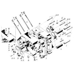 Lusterka M8 PP - czarne, owalne - LM0037