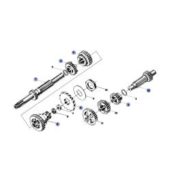 Silnik - Skrzynia biegów -...
