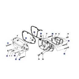 Zegary motocyklowe ATV - uniwersalne - AI2703