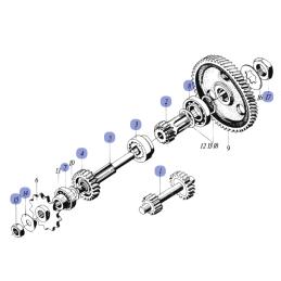 Zegary motocyklowe ATV - uniwersalne - AI2704