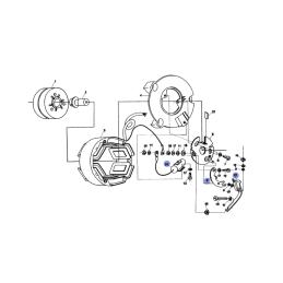 Silnik - Stator - WSK175 Wiatr