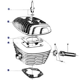 Silnik - Cylinder i głowica...