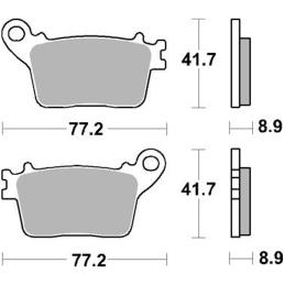 Emblemat Vespa - chromowany 100x33 - RMS