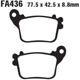 Klocki hamulcowe EBC FA436