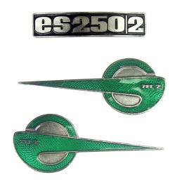 Emblemat MZ ES250/2 kpl. 3...