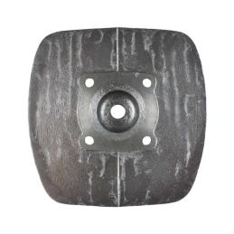 Gumy podnóżka - grube okrągłe, otwór prostokątny