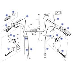 Wspornik tłumika Romet Motorynka - typ S