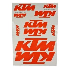 Naklejki KTM Orange kpl. -...