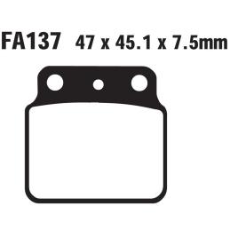 Klocki hamulcowe EBC FA137 TT