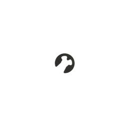 Pierścień Segera falowy 2,3mm