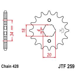 Stator 139FMB - 2 cewki, impulsator, 5 przewodów