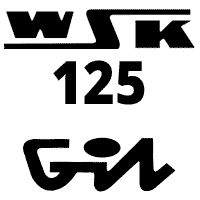 Schemat części WSK125 M06B3 Gil