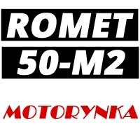 Schematy części zamiennych do motorowerów Romet Motorynka M2 Pony