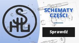 Motocykle SHL - schematy części