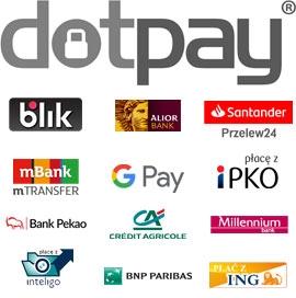 Płatności obsługuje Dotpay