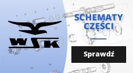 Motocykle WSK - schematy części